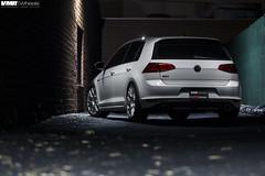 "VW MK7 GTI Candy White - Flow Formed V810 Gunmetal 18"" (VMR Wheels) Tags: vw golf volkswagen gti nero vmr gunmetal pirel"