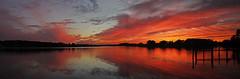 November sunset (quinnwr) Tags: sunset virginia panoramic