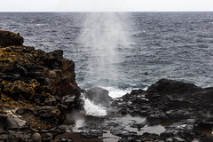 Dragons Breath (aaronwoodwell) Tags: ocean hawaii pacific maui pacificocean blowhole roadtohana nakaleleblowhole canon60d