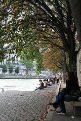 Seine'i kaldal (llilian) Tags: pariis välismaal