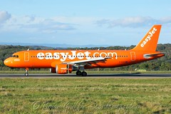 G-EZUI easyJet (Special 200 Airbus Inverted Colours) Airbus A320-214 (carlowspotter) Tags: uk england bristol airplane flying airport aviation airline airbus airliner easyjet a320 spotter a320200 avgeek eggd a320214 gezui