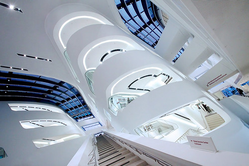 The Library and Learning Center by Zaha by o palsson, on Flickr