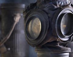 German gas mask model 1917 (VISITFLANDERS) Tags: war europe belgium fields worldwar flanders westhoek flandersfields westfront wo1 woi visitflanders