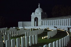 Light Front 2014 (VISITFLANDERS) Tags: europe belgium ww1 anzac ypres flanders commemoration flandersfields westfront passchendaele tynecotcemetery lightfront visitflanders