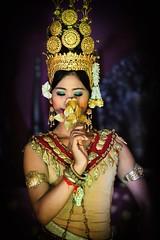 Golden Rose (Trent's Pics) Tags: rose female dance cambodia khmer dancer siemreap angkor performer apsara goldenrose apsaradancer