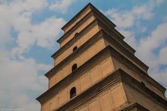 Dayan Pagoda (SimonGriffiths) Tags: china wild building simon pagoda big goose historic xian dynasty emperor tang dayan griffiths simongriffiths gaozong