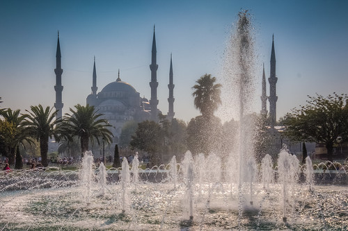 The Blue Mosque and Fountain