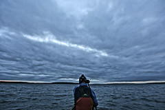 Grey November... (deanspic) Tags: november blue autumn canada fall water grey waves mary canoe bow chop rough canoeing stlawrenceriver 6d leaden bluegrey choppy longsault roughwater ef1635mmf28liiusm lakestlawrence canoeandkayak canoescape