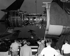 First TF-39 Engine (rjl6955) Tags: lockheedmartin lockheedgeorgia c5 galaxy transport airlifter airplane aircraft c5galaxyinaction geaviation geaircraftengines tf39 turbofan engine highbypassturbofan cargo