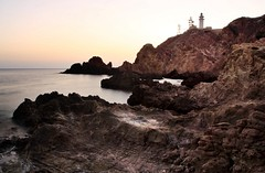 inslita soledad  EXPLORE (RalRuiz) Tags: espaa atardecer mar andaluca mediterraneo cielo almera cabodegata acantilado rocas arrecifedelassirenas parquenaturaldelcabodegata farodelcabodegata