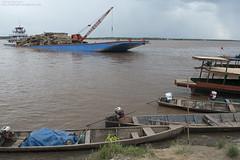 Pucallpa port (ggallice) Tags: peru amazon rainforest timber logging pucallpa ucayali ucayaliriver