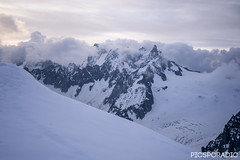 Midi Plan Ridge (PICSPORADIC) Tags: france alps europe glacier climbing mountaineering chamonix iceclimbing alpineclimbing glaciertravel midiplanridge