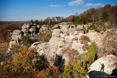 Southern Illinois Like You've Never Imagined (GlobalGoebel) Tags: shadow 3 silhouette rock forest canon eos illinois rocks mark iii gardenofthegods national 5d shawnee formations southernillinois mark3 markiii shawneenationalforest 24105mm canonef24105mmf4lisusm observationtrail