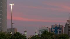 Sky (engine9.ru) Tags: sunset sky tree architecture clouds pylon abudhabi abu dhabi