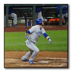 Michael Saunders Fly Ball to Left Field (seagr112) Tags: seattle seattlemariners torontobluejays washington baseball baseballgame mlb team sport michaelsaunders safecofield