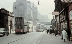 strathclyde - glasgow trams at glasgow cross 9-60 JL (johnmightycat1) Tags: tram scotland glasgow