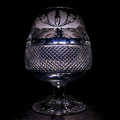 Goblet (Explore 10/25/2016) (Dragon Whale) Tags: macromondays backlit crystal goblet topazdenoise topazclarity topazdetail