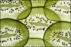 Kiwi Fruit option (andymoore732) Tags: macromondays option kiwifruit backlit glass red green blue yellow flash andymoore colour nikon d500 macro afs vr micronikkor 105mm f28gifed nikonsu800 sb700 challenge theme flickr