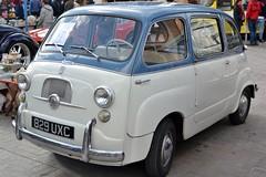 2016-10-01: Fiat Van (psyxjaw) Tags: london londonist vintage festival classic car boot sale classiccar kingscross shopping lewiscubitsquare