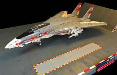 F-14A Tomcat Front Qtr (crash_cramer) Tags: lego f14 f14a tomcat