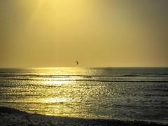 Pacasmayo kite surfer.