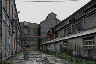 Abandoned smelting plant