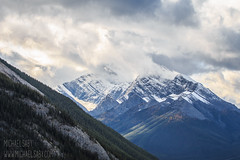 Take and Seal It (Michael Saby) Tags: mountains mountain landscape landscapes alberta canada explorealberta explore travel travelalberta explorecanada sky clouds fog canon 70d hike hiking canmore banff national park michael saby trees rundle haling ha ling peak beautiful love