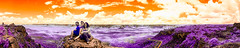 Chapadas do Guimares - Mato Grosso (Helder Faria) Tags: 590nm chapadadosguimares ir infrared infravermelho d5100 nikon 1685mm convert orange purple cerrado savannah matogrosso paisagem paisaje panormica panoramic panorama landscape nature natureza parquenacional park lifepixel wideangle colorful colors helderfaria cuiab wild trilhadomel hotspot