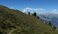Saxon (bulbocode909) Tags: valais suisse saxon montagnes nature paysages nuages arbres vert bleu sentiers