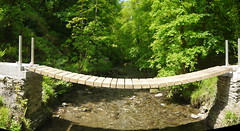 New Bridge (Worthing Wanderer) Tags: nationaltrust lydfordgorge devon may spring walk woods woodland river gorge sunny