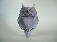 Owl - Kazuhiko Nishimura (Rui.Roda) Tags: origami papiroflexia papierfalten mocho coruja buho hibou eule owl kazuhiko nishimura