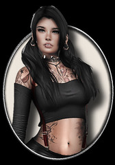 okt7 ([] Nieor Svir []) Tags: woman meshbodylara style lotd poetic maitreya fashion mandala hair blogging sl secondlife meshhead personen catwa glamaffair insanya stealthic addams
