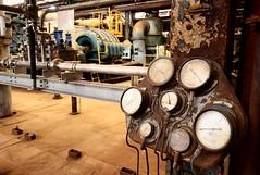Turbine Telemetry (slaterspeed) Tags: winnington soda ash works turbine hall compressor house turbo stage abandoned derelict