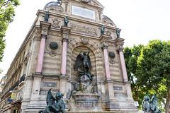 Shutterstock_Paris_Place Saint Michel (Context Travel) Tags: paris shutterstock licenserestricted