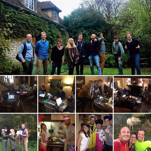 """#CoLiving #CountryCoWorking De retour de 3 jours dans le Vexin pour la première édition de """"Quitter (parfois) Paris"""". Délicieux cocktail : nature, convivialité, efficacité, créativité, partage, simplicité et authenticité  #yabon. Merci la team ;)"""