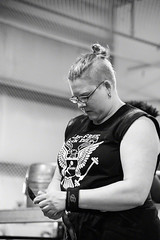Game Time (coyote86) Tags: coyote86 coyoteimages strong woman competition 2016 strongwomancompetition molly lifting weight weightlifting blackandwhite blackwhite black white bw maine portland portlandmaine muscles strength gametime