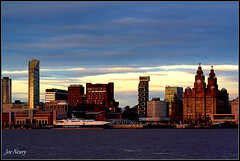 Liverpool`s waterfront (exacta2a) Tags: liverpoolmerseyside waterfronts evening architecture buildings birkenhead
