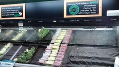 Empty Produce Display. (dccradio) Tags: lumberton nc northcarolina robesoncounty empty produce producedisplay radish broccoli corn