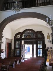 View to main doors, Templo de Nuestra Seora de La Salud, San Miguel de Allende, Mexico (Paul McClure DC) Tags: sanmigueldeallende mexico bajo guanajuato nov2016 church historic