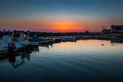 Sunset at the marina (luigig75) Tags: marina sunset tramonto porticciolo boats barche sicilia sicily marsala trapani petrosino sibiliana torre sea seascape landscape efs1022mmf3545usm 70d hdr