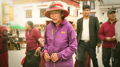 Tibet, candid shot of a woman immersed in thoughts and walking on the streets of Lhasa (Lhasa, China), 06-2016, 83 (Vlad Meytin, vladsm.com) (Vlad Meytin   Instagram: vmwelt) Tags: chengguan china khimporiumco meytin tibet tibetan vladmeytin art artgallery artists artphoto artworld asia candid carlzeiss chinese clothes fe5518 gallery highaltitude local oldwoman photography photographyart pictures sony sonya7 sonyalpha street streetphotography summer vladsm vladsmcom vmwelt walking woman zeiss