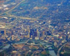 urban crawl (original) (Jo Borlan) Tags: city aerial buildings downtown metropolis skyscrapers overhead outdoor tiltshift