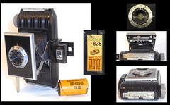 Kodak Bantam f/5.6 camera (camera.etcetera) Tags: kodak bantam camera usa 828