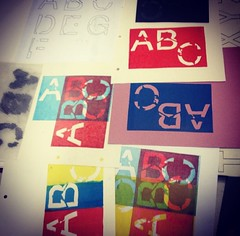 Destroyed Lettering Lino Prints (maddy.senna) Tags: lino linoprints prints print printing handrendering linocut design student designstudent graphics graphicdesignstudent