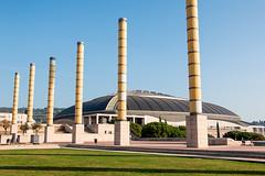 Estadi Olmpic de Montjuc Llus Companys (Manrrull) Tags: barcelona estadi olmpic de montjuc llus companys