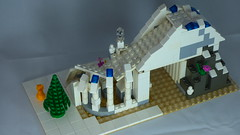 Brick Yourself Custom Lego Set Ski Slope 2