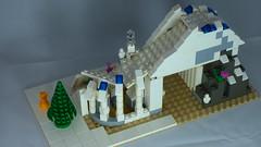 Brick Yourself Custom Lego Set Ski Slope 2