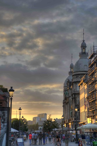 Antwerp Sunset 2