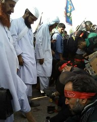 #Shia people cleaning shoes of #Sunni pilgrims of Imam Hussain in #Arbaeen ... (ShiiteMedia) Tags: muharam 1438 ashura shia shiite media killing genocide news urdu      channel q12