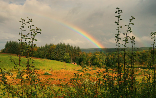 Rainbow near Galloway